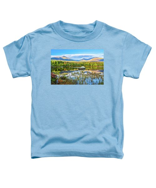 Autumn Mt.katahdin Baxter Sp Maine Toddler T-Shirt