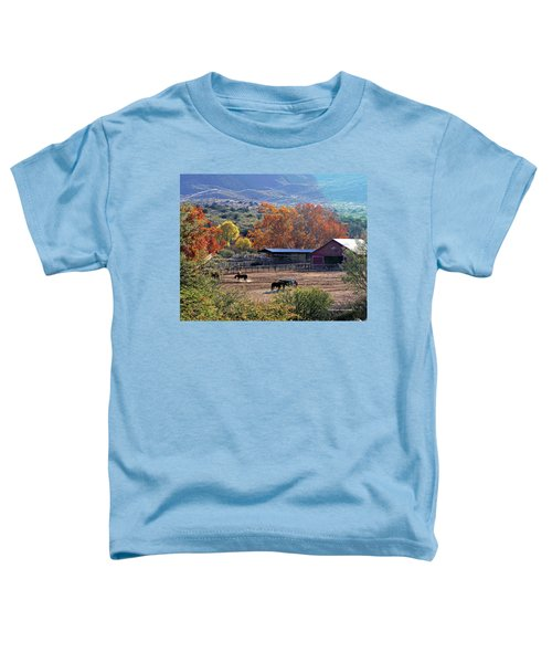 Autumn Ranch Toddler T-Shirt