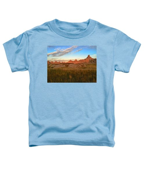 Badlands Evening Glow Toddler T-Shirt