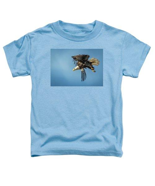 Bald Eagle Flight 1 Toddler T-Shirt