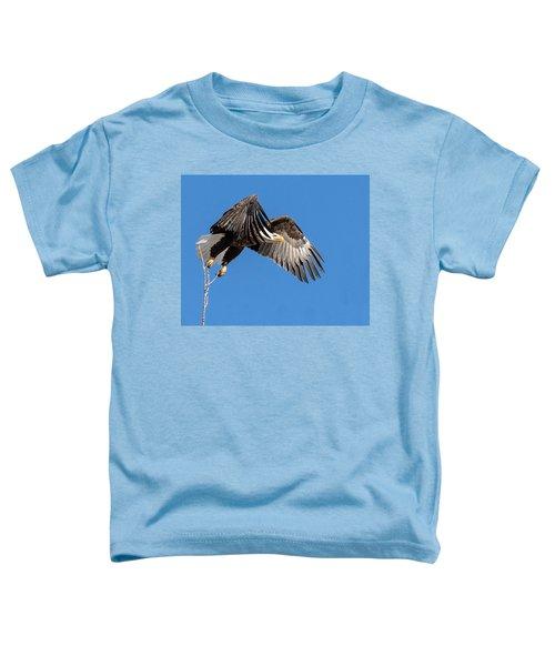 Bald Eagle Flight 3 Toddler T-Shirt