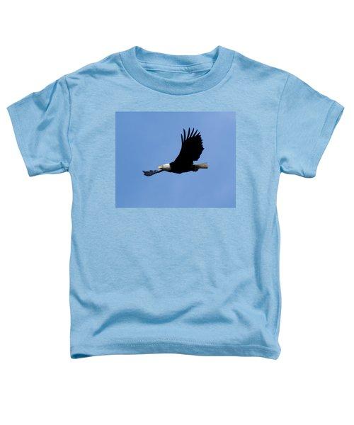 Bald Eagle Soaring High Toddler T-Shirt
