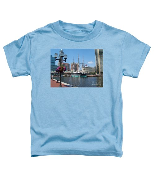 Baltimore Inner Harbor Toddler T-Shirt