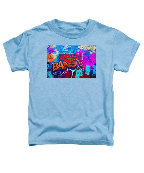 Bang Graffiti Nyc 2014 Toddler T-Shirt