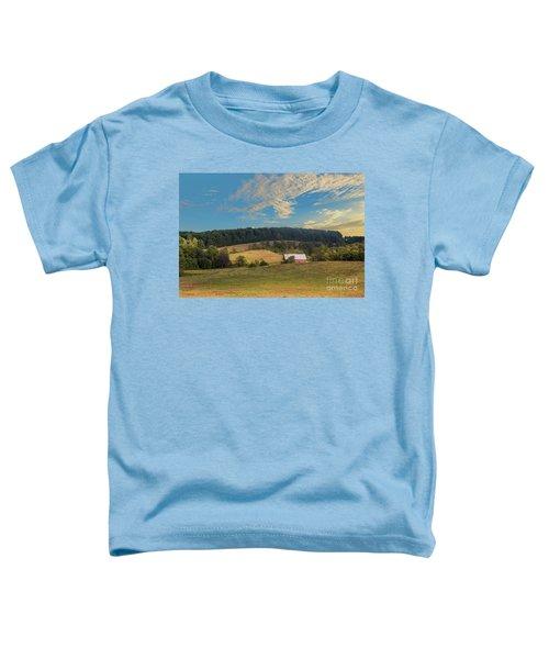 Barn In Field Toddler T-Shirt