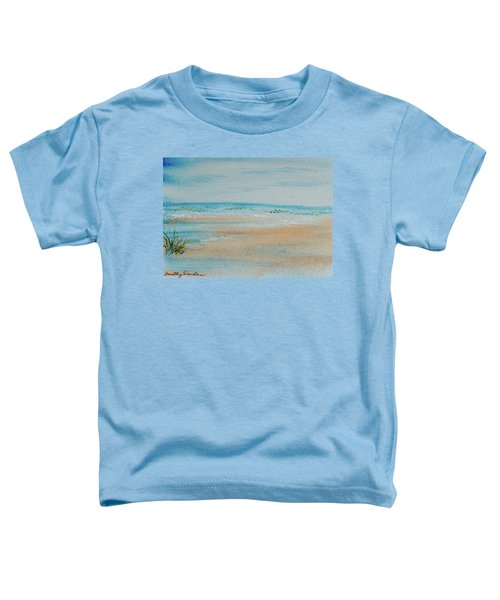 Beach At High Tide Toddler T-Shirt