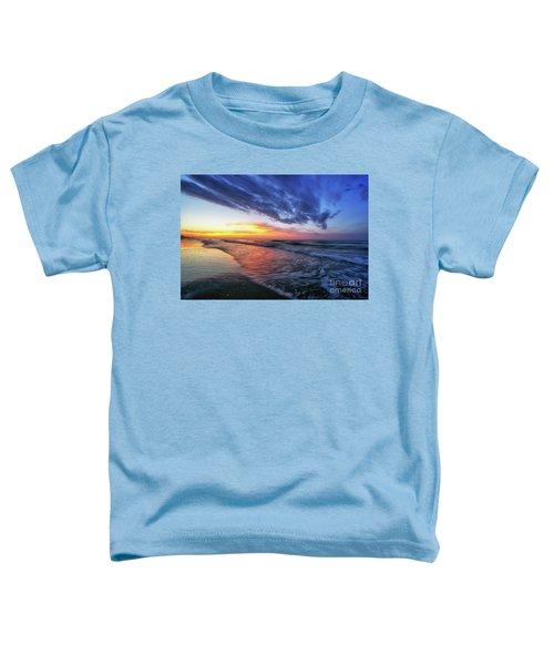 Beach Cove Sunrise Toddler T-Shirt