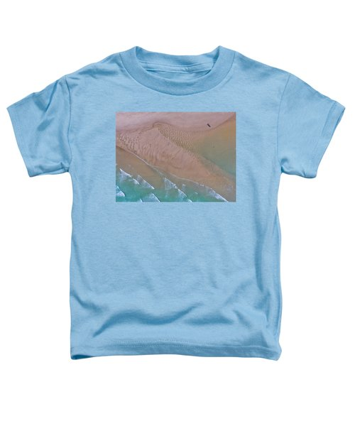 Beach Patterns At North Point On Moreton Island Toddler T-Shirt