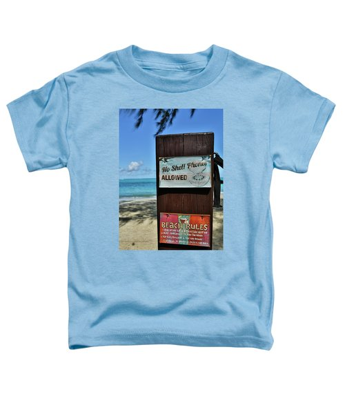 Beach Rules Toddler T-Shirt