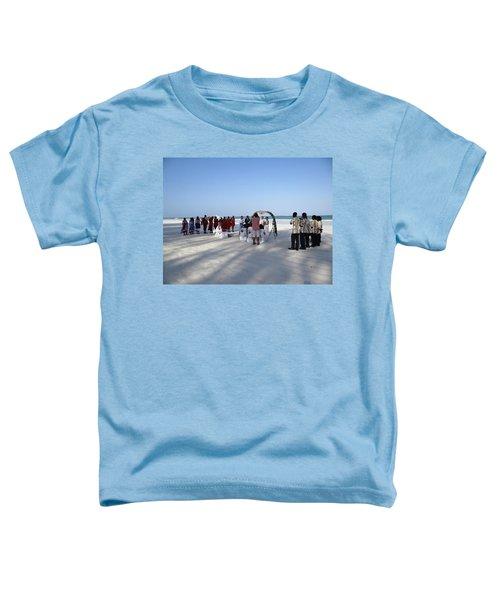 Beach Wedding In Kenya Toddler T-Shirt