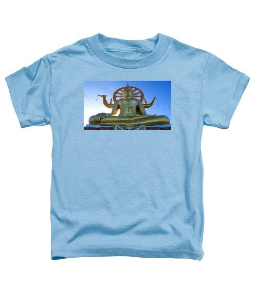 Big Buddha At Koh Samui Toddler T-Shirt