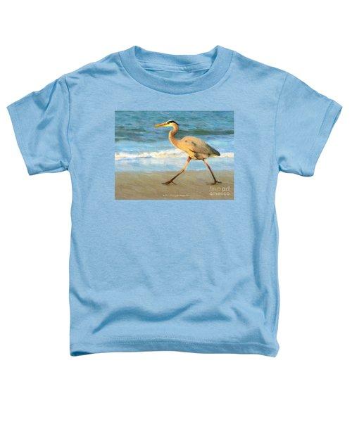 Bird With A Purpose Toddler T-Shirt