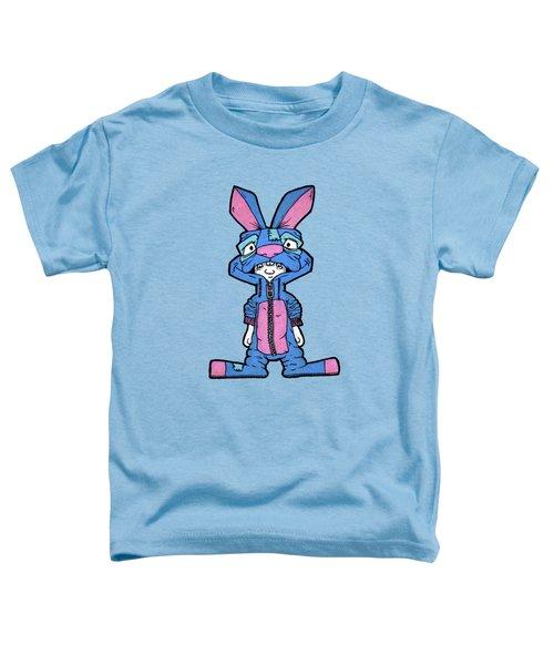 Bizarre Bunny Mascot Toddler T-Shirt by Bizarre Bunny