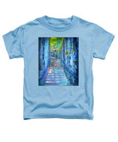 Blue Dream Stairway Toddler T-Shirt