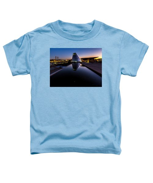 Blue Hour Reflections On Glass Toddler T-Shirt