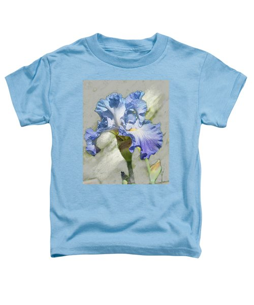 Blue Iris 2 Toddler T-Shirt