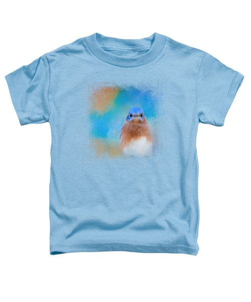 Blue Is Beautiful Toddler T-Shirt by Jai Johnson
