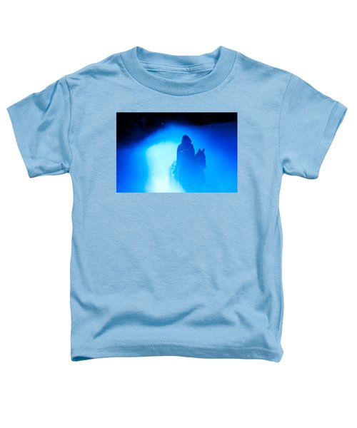 Blue Knight Toddler T-Shirt