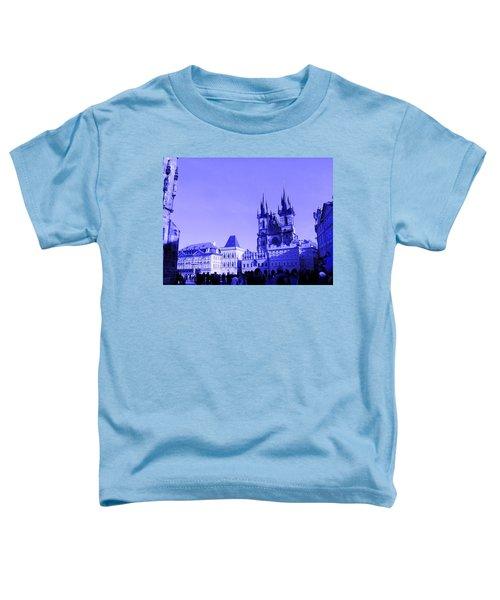 Blue Praha Toddler T-Shirt