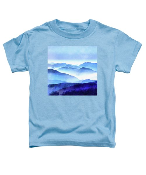 Blue Ridge Mountains Toddler T-Shirt