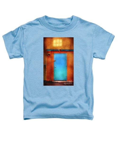 Blue Taos Door Toddler T-Shirt