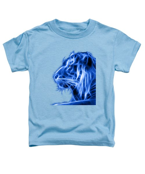 Blue Tiger Toddler T-Shirt