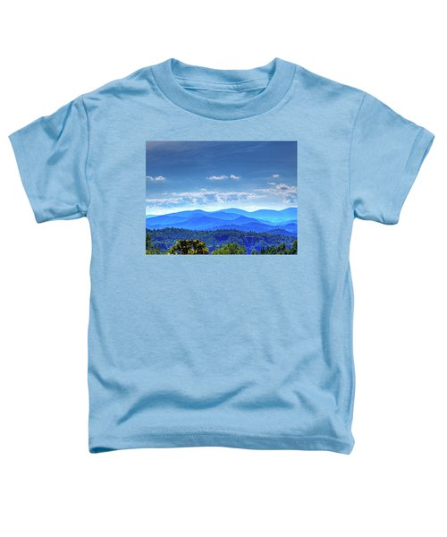 Blue Waves Toddler T-Shirt