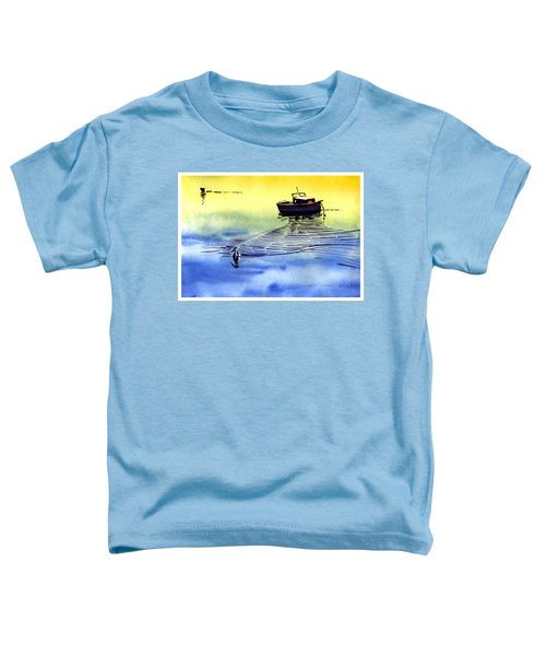 Boat And The Seagull Toddler T-Shirt