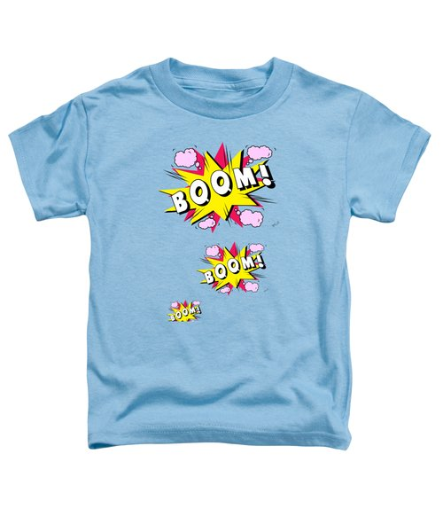Boom Comics Toddler T-Shirt by Mark Ashkenazi