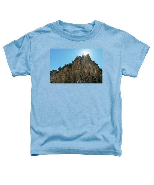 Toddler T-Shirt featuring the photograph Boulder Canyon Narrows Pinnacle by James BO Insogna