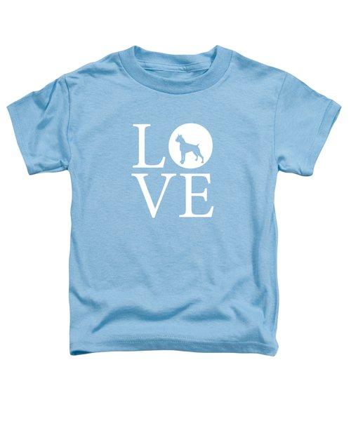 Boxer Love Toddler T-Shirt