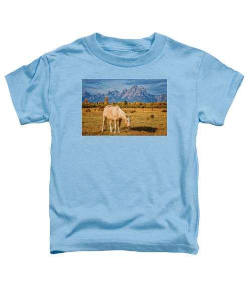 Breakfast In The Tetons Toddler T-Shirt