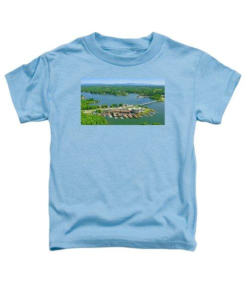 Bridgewater Plaza, Smith Mountain Lake, Virginia Toddler T-Shirt