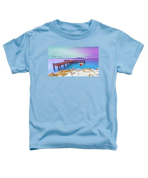 Brown Dock Toddler T-Shirt