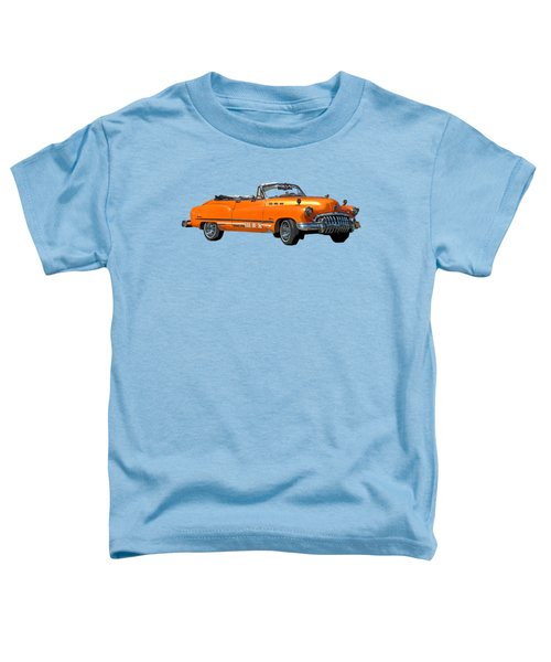 Buick Art In Orange Toddler T-Shirt