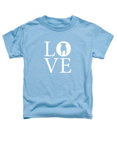 Bulldog Love Toddler T-Shirt