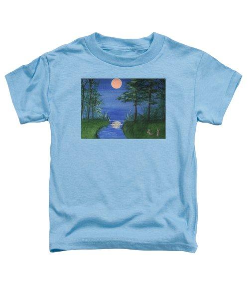Bunnies In The Garden At Midnight Toddler T-Shirt