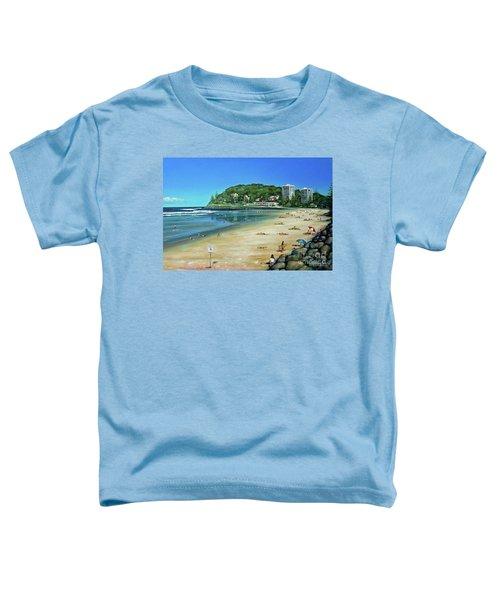 Burleigh Beach 100910 Toddler T-Shirt
