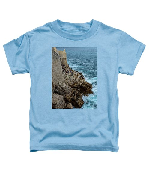 Buza Bar On The Adriatic In Dubrovnik Croatia Toddler T-Shirt