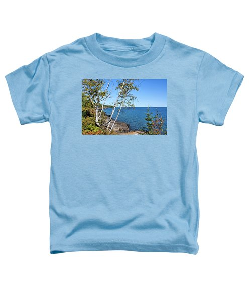 By The Shores Of Gitche Gumee Toddler T-Shirt