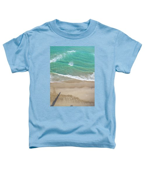 Toddler T-Shirt featuring the photograph Byron Beach Life by Chris Cousins