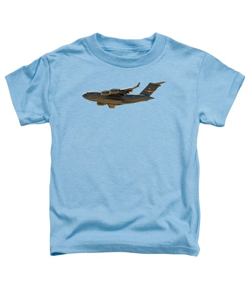 C-17 Globemaster IIi Toddler T-Shirt by Mark Myhaver