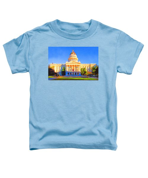 California State Capitol . Painterly Toddler T-Shirt