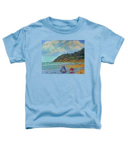 Cannon Beach Kids Toddler T-Shirt