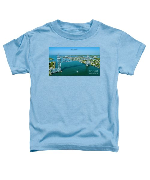 Cape Cod Canal Suspension Bridge Toddler T-Shirt