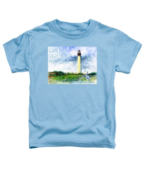 Cape May Lighthouse Shirt Toddler T-Shirt