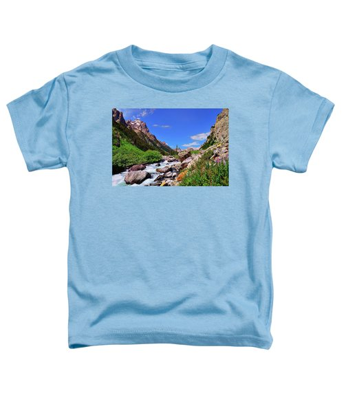 Toddler T-Shirt featuring the photograph Cascade Canyon by Greg Norrell