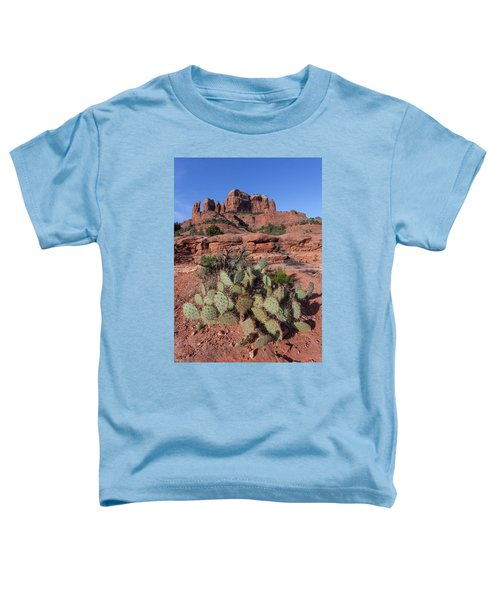 Cathedral Rock Cactus Grove Toddler T-Shirt