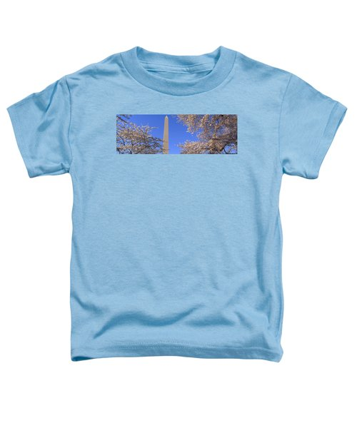 Cherry Blossoms And Washington Toddler T-Shirt