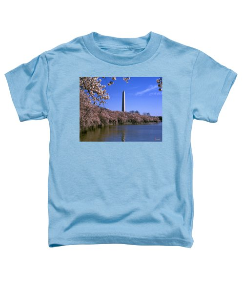 Cherry Blossoms On The Tidal Basin 15j Toddler T-Shirt